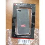 CUSTODIA X APPLE IPHONE5 SCP30038C SWISS CHARGER IN SILICONE TRASPARENTE