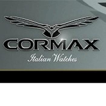 OROLOGIO CORMAX CX-QW9901-W CON IND.DATA - QUADRANTE BIANCO CON CRISTALLI - CINTURINO IN PELLE BIANCO