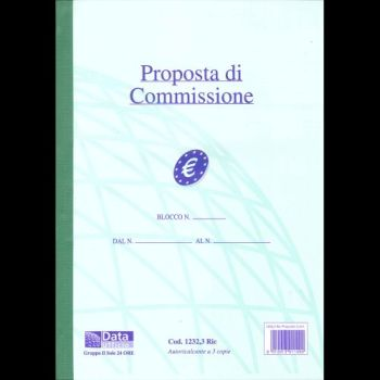 BLOCCO COMMISSIONI AUTORIC. 3 COPIE