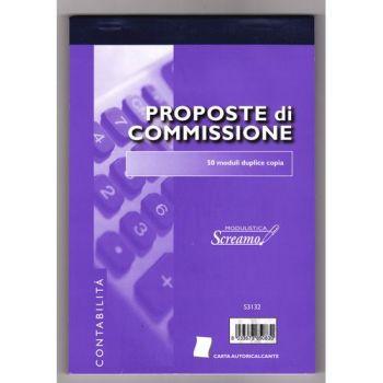 BLOCCO PROPOSTE COMMISSIONI 50/50 FOGLI