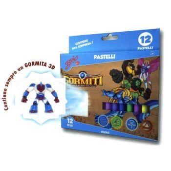GORMITI SET 12 MATITE C/1 PERS.