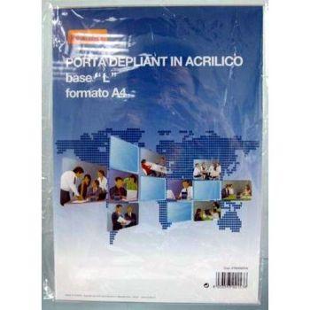CORNICE ACRILICO A4 VERTICALE C/BASE