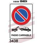 CARTELLO PASSO CARRABILE 20X30CM