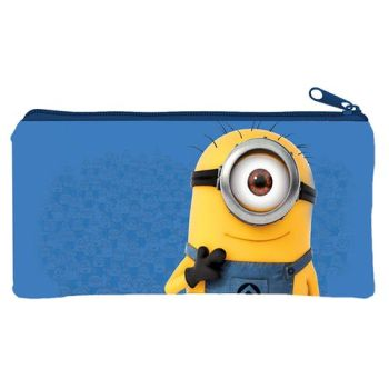 BORSELLO IN PVC 21X11 MINIONS