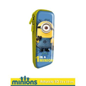 ASTUCCIO 3D 23X10CM MINIONS