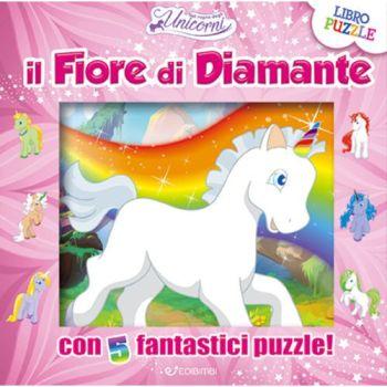 UNICORNI PUZZLE - FIORE DI DIAMANTE      NON IMP. ART.74  23X1