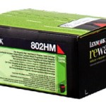 Lexmark 80C2HM0 Toner magenta return program