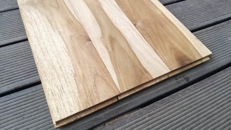 Flooring Kayu Jati Grade C