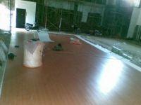 pemasangan lantai parket di brawijaya malang