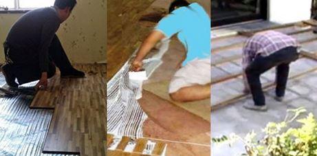 jasa pemasangan lantai kayu parket 2
