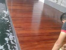 Decking kolam