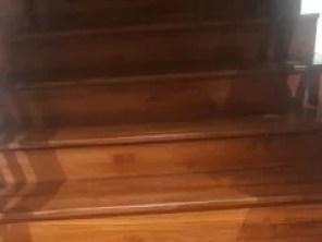 papan tangga kayu merbau jual
