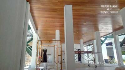 lumber ceiling plafon kayu