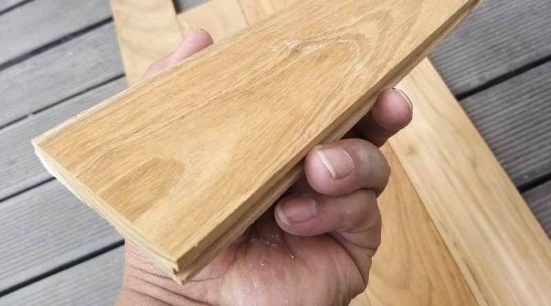 Mini Flooring Kayu Jati Grade A