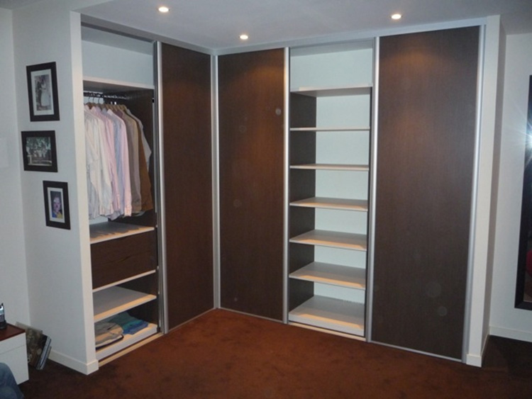 dressing d angle portes coulissantes