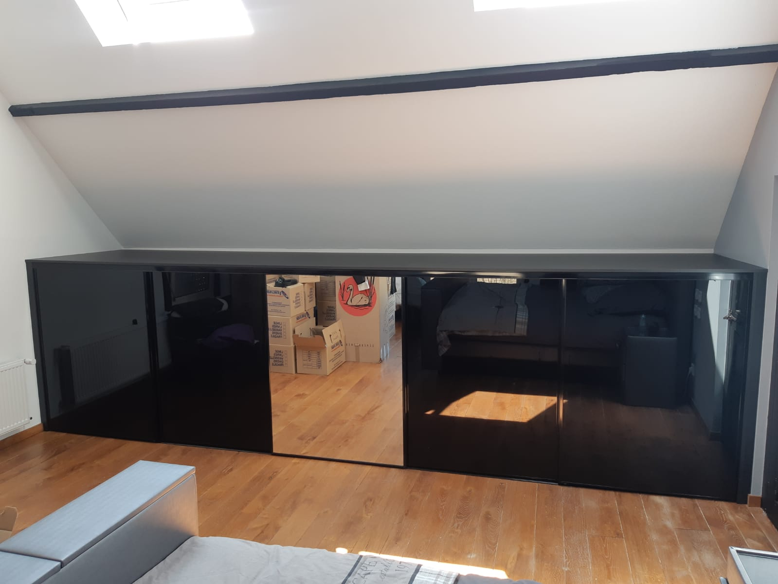 meuble bas sur mesure avec porte en