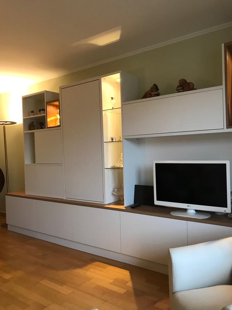 meuble tv avec une table escamotable