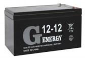 картинка Аккумуляторная батарея G-energy 12-12 F1 от Кипер Трэйд