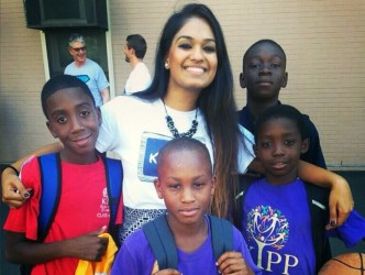 Ms. Shah Introduces Students to the World