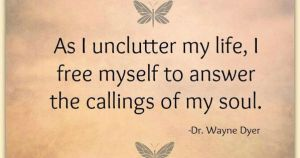 the clutter in life