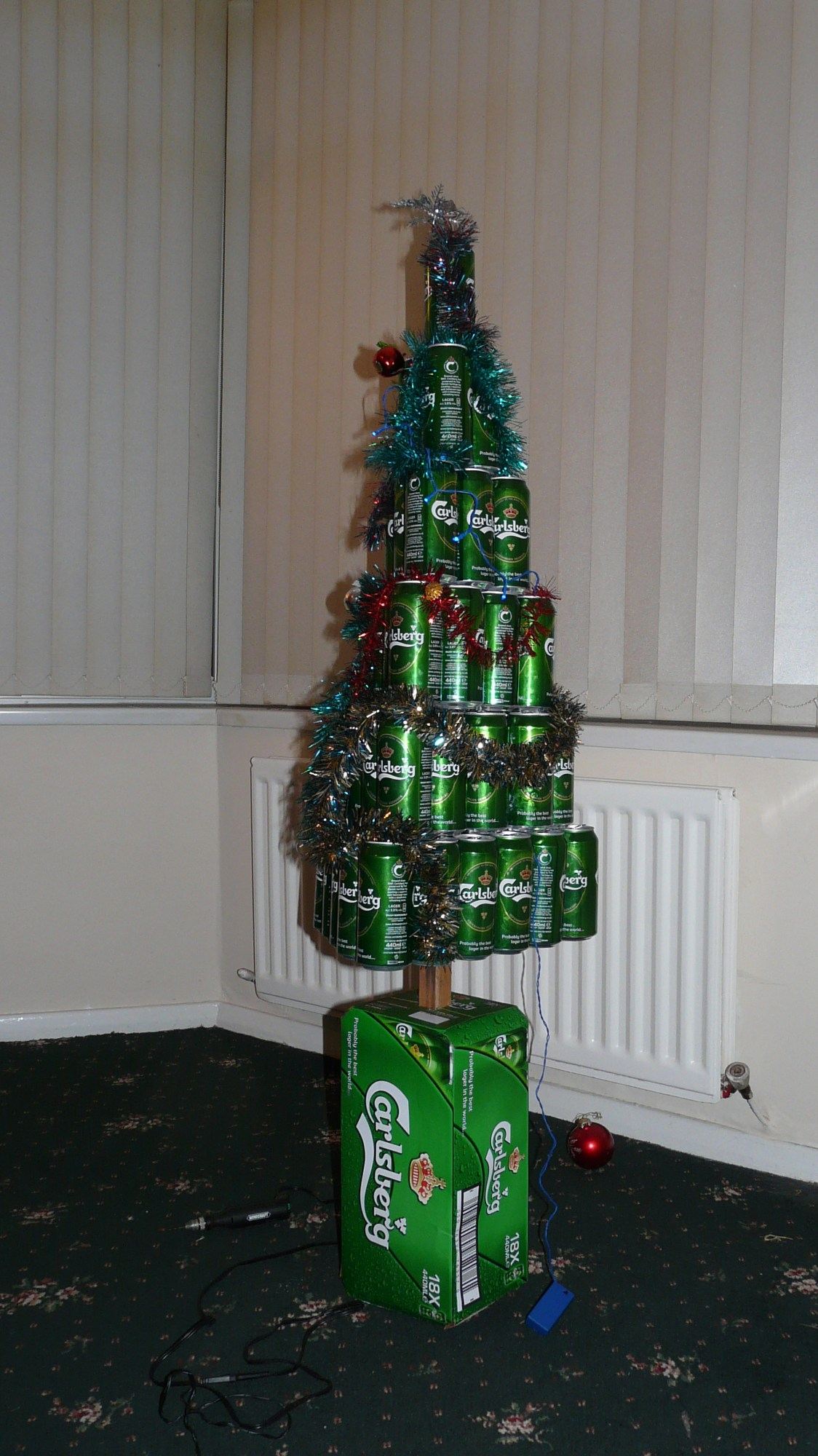 Beers from christmas past warriors on purpose for How to make a beer bottle christmas tree