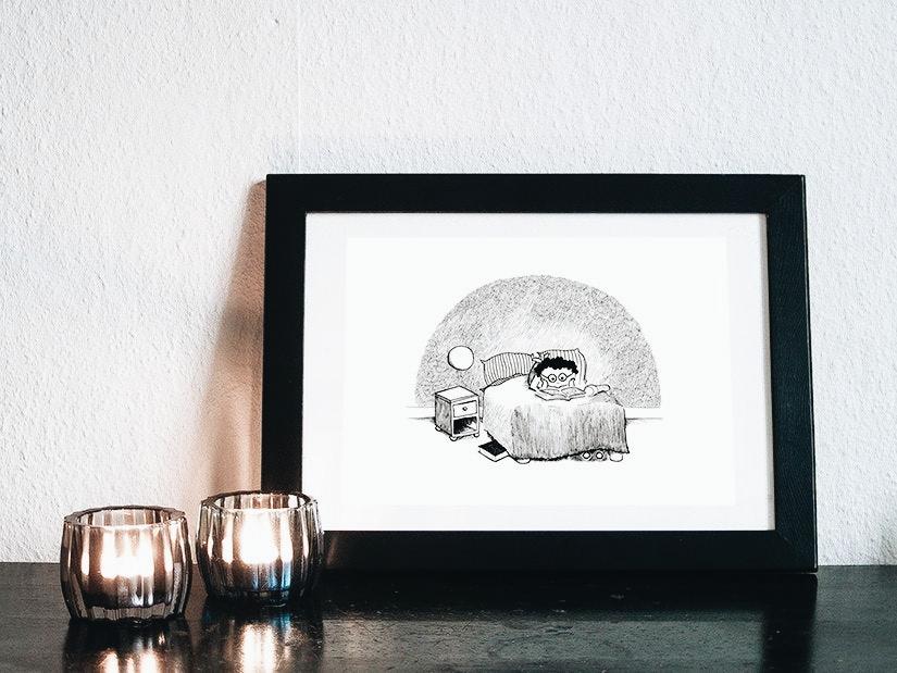 """""""Bogorm""""-illustraion af Kira Bang-Olsson"""