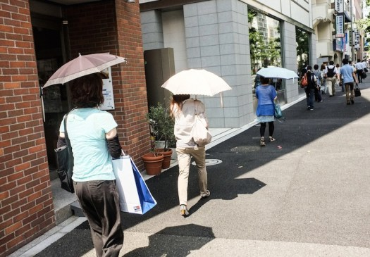 parasoles japon