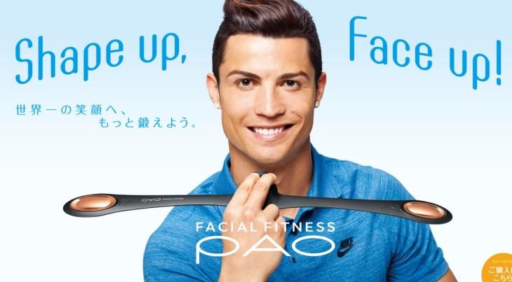 Cristiano Ronaldo Facial Fitness