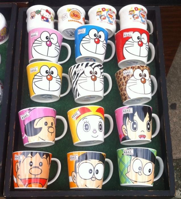 Doraemon mugs