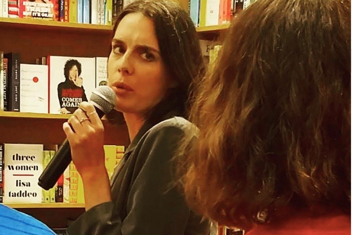 Kira Josefsson in audience discussion for WiT month reading at Greenlight Bookstore in Flatbush.