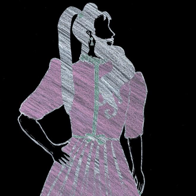 silk dress ws