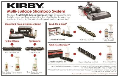 Kirby Multi-Surface Shampoo System
