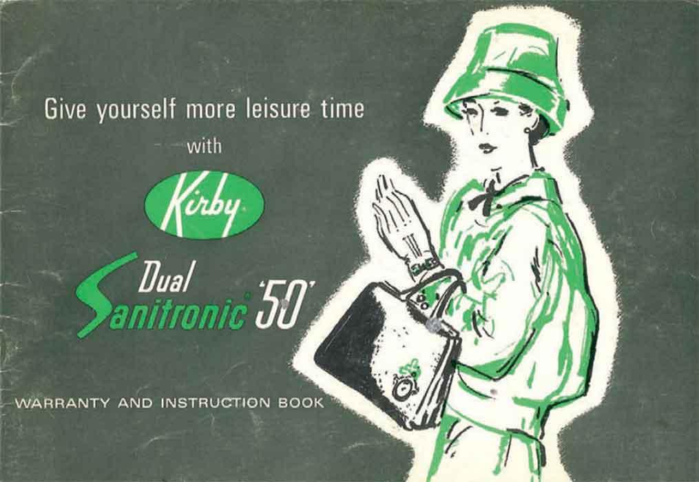 Download the Kirby Dual Sanitronic 50 Manual.
