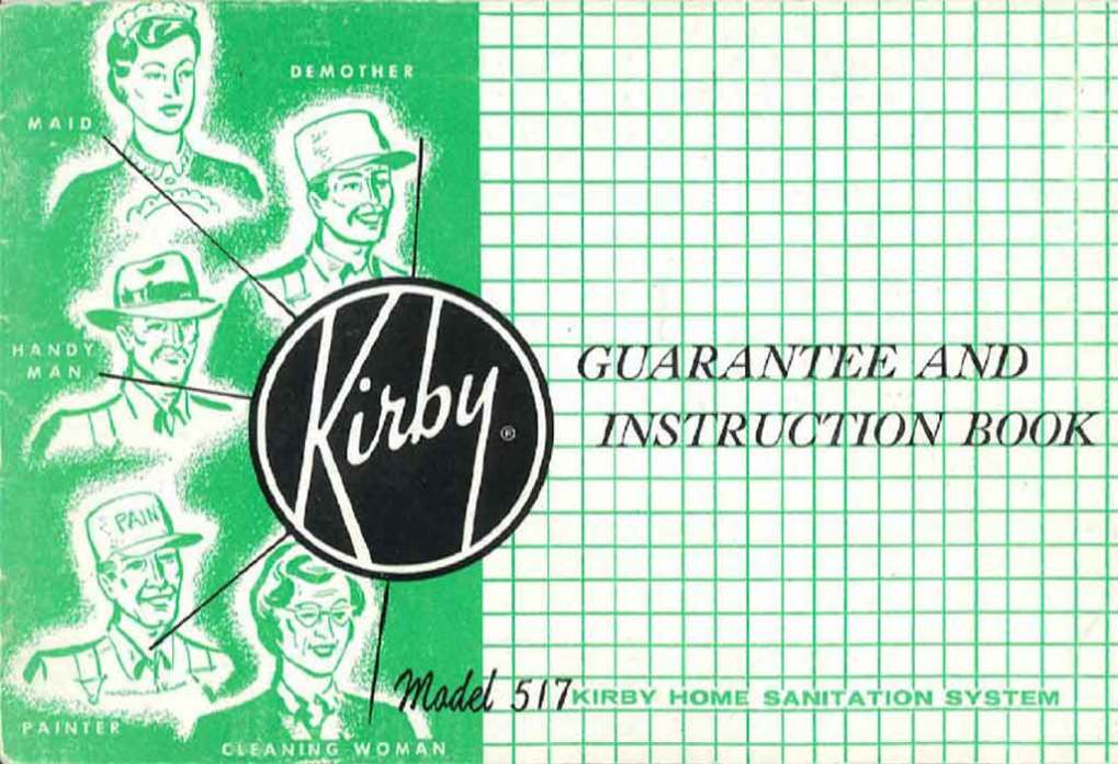 Download the Kirby Model 517 Owner Manual.