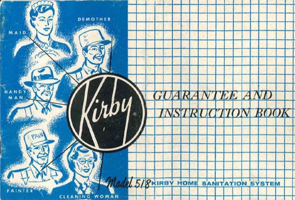 Download the Kirby Model 518 Owner Manual.