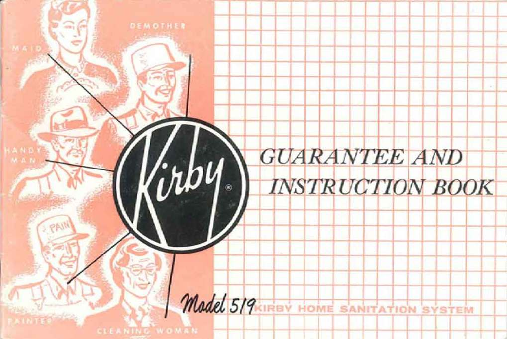 Download the Kirby Model 519 Owner Manual.