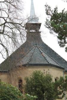 Kapelle Bernstadt - vor außen 2