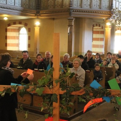 Familiengottesdienst Ostern Bernstadt 2016 - 8