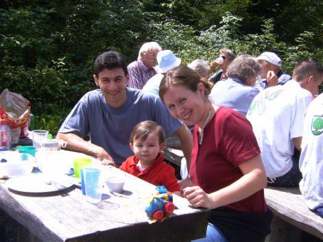 Brätlen nach Familiengottesdienst
