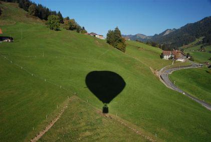 Impressionen einer Ballonfahrt