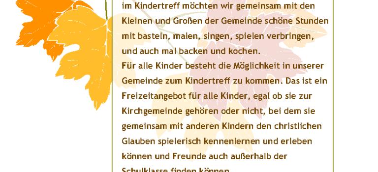 Ruhrorter Kindertreff St. Maximilian