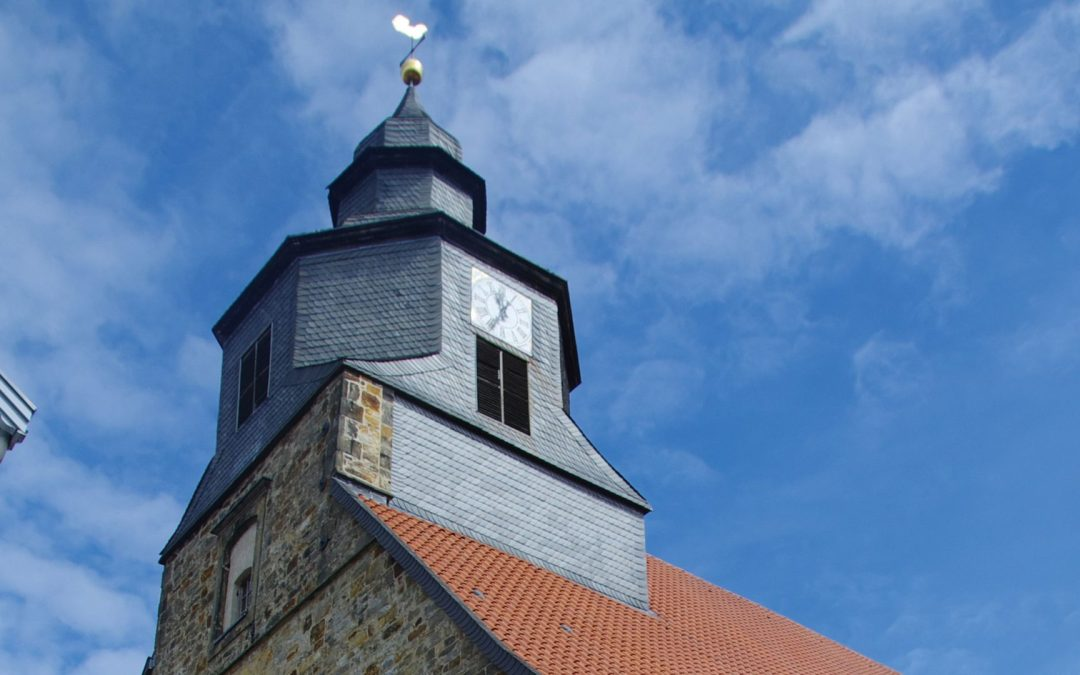 Präses Annette Kurschus predigte zum Kirchenjubiläum in Petershagen