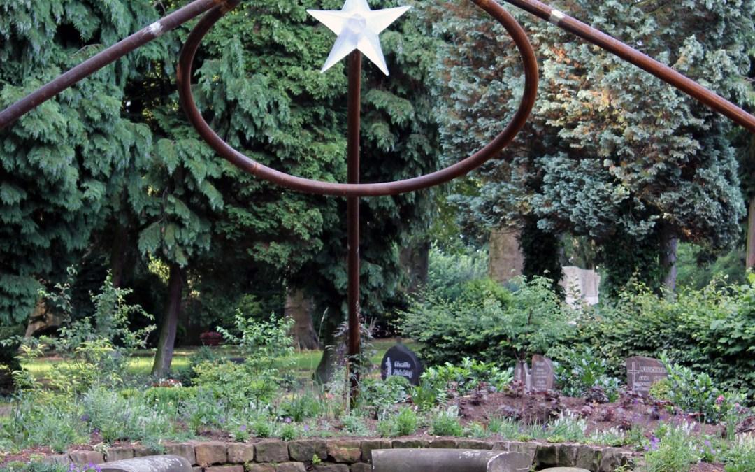 Gedenkgottesdienst für Sternenkinder Pfingstsonntag auf dem Nordfriedhof