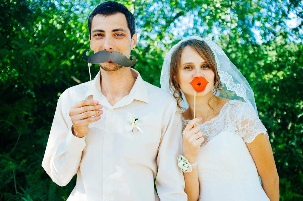 Атрибуты свадебной фотосессии