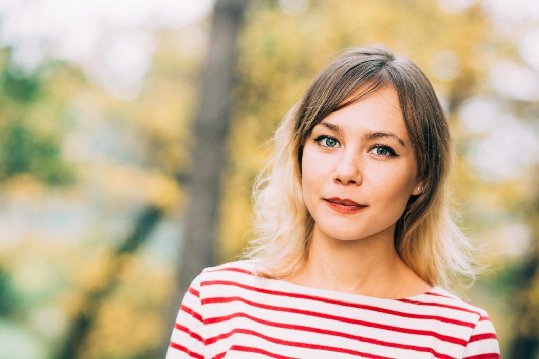 Портрет осенняя фотосессия Киев