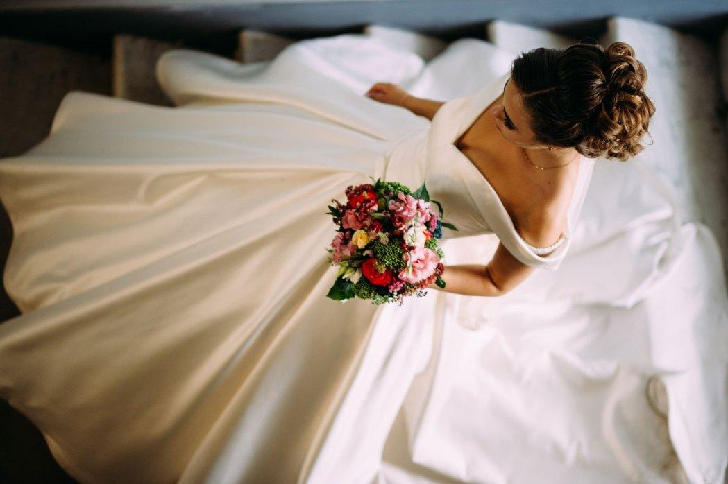 Невеста на лестнице в Шоколадном домике