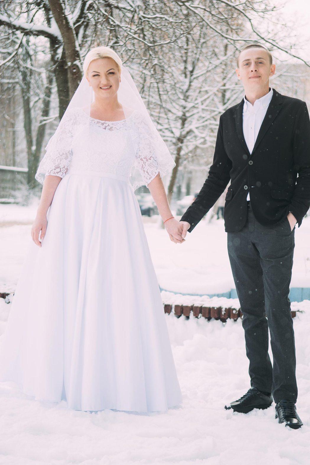 Зимняя фотосъемка свадьбы