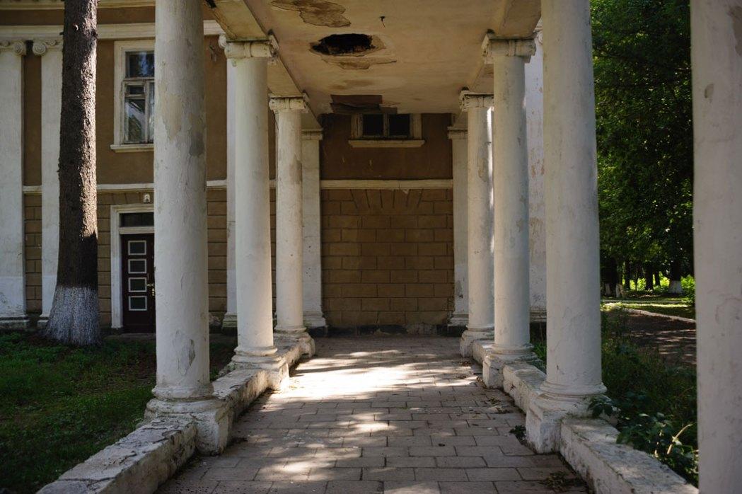Залещики дворец баронов Бруницких