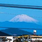 何気にゲストハウス白昼夢の敷地内から富士山が見える!