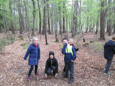 outdoor learning in the woods 048